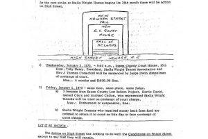 Operation Understanding Newsletter on Stella Wright Rent Strike (Dec 26, 1972)