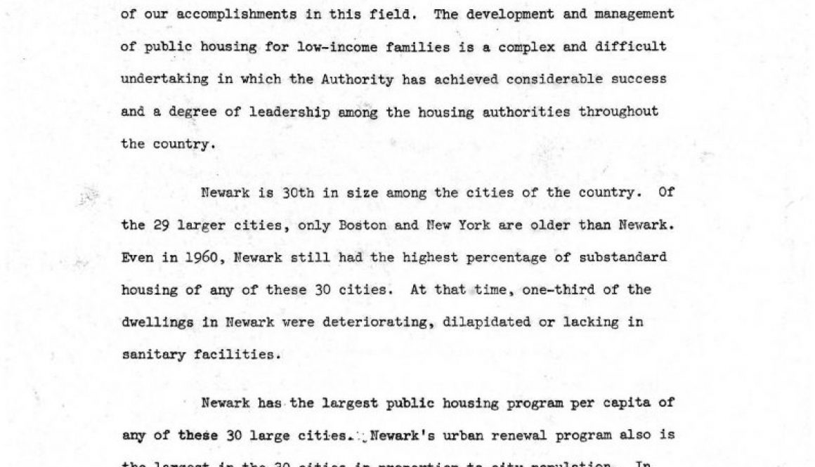 thumbnail of Statemenf of Louis Danzig to NJ Committee on Civil Rights (June 29, 1966)