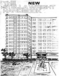 Handbook for residents of the Stella Wright Homes, issued in 1975 following the settlement of the Stella Wright Rent Strike. The handbook includes a copy of the 1974 agreement, as well as diagrams of the organizational structure of the Stella Wright Tenant Association. -- Credit: Seton Hall University Libraries