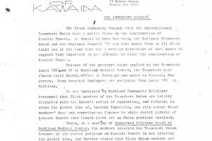 Temple of Kawaida Press Release (March 6, 1973)