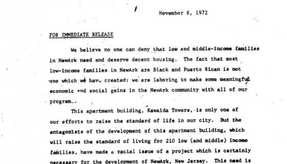 Thumbnail- Temple of Kawaida Press Release (Nov 8, 1972)