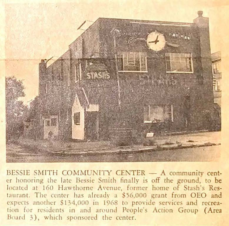 Bessie Smith Community Center (1968)