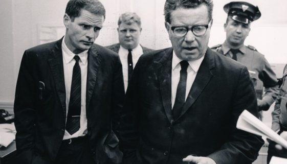 Governor Hughes Speaks to Reporter During 1967 Newark Rebellion