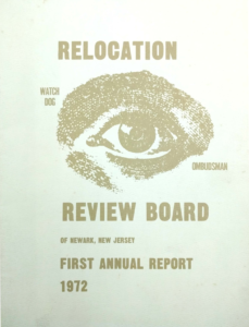 First Annual Report of the Relocation Review Board 1972