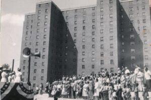 Hayes Homes Dedication Ceremony, 1954