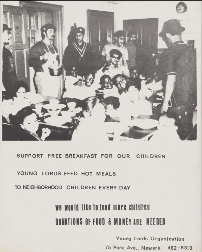 Young Lords Breakfast Program (1970)