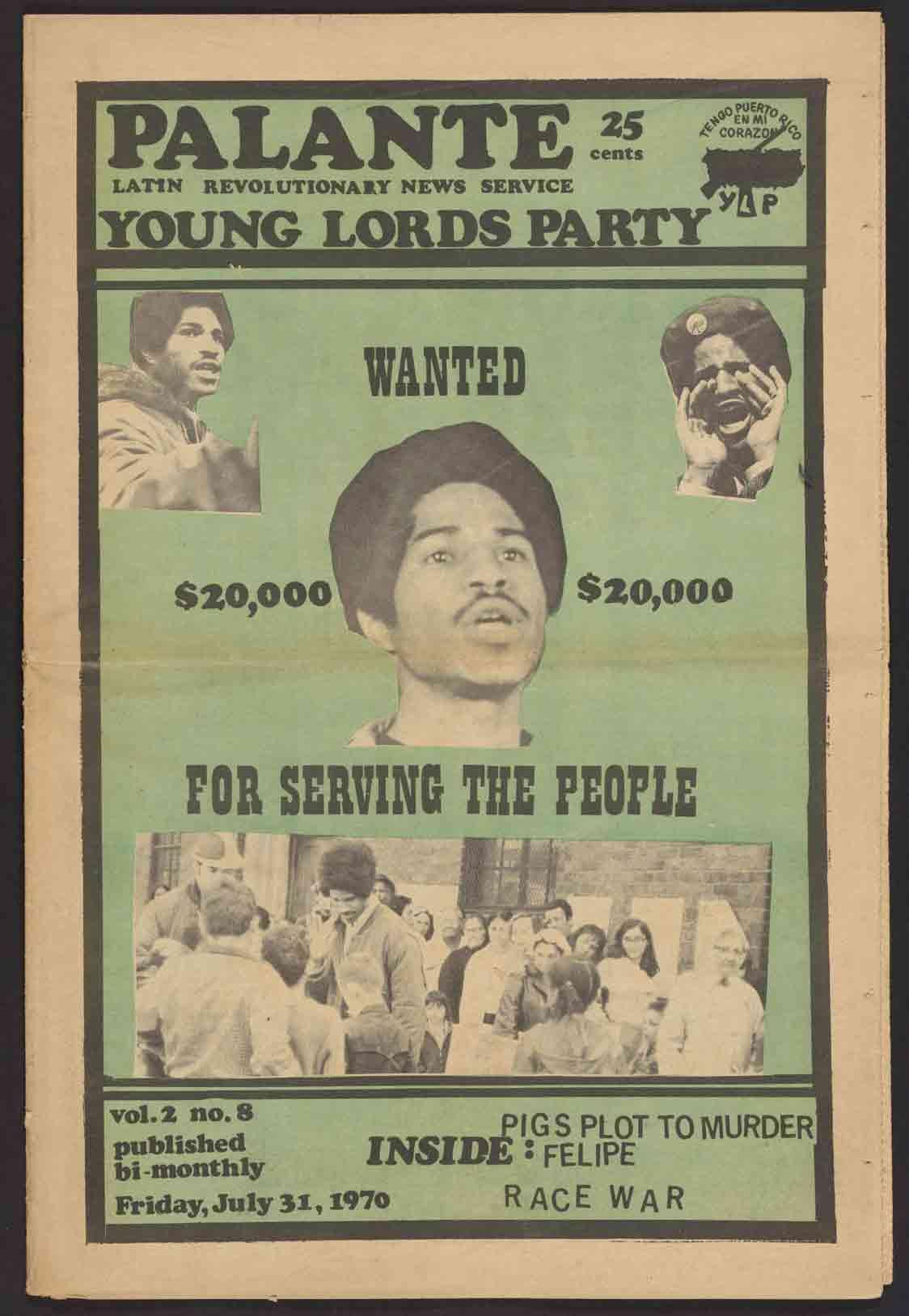 Palante (July 1970)