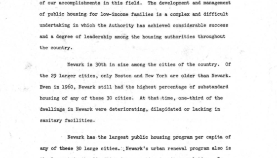 Statement of Louis Danzig to NJ Committee on Civil Rights June 29 1966