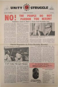 thumbnail of Unity and Struggle (October 1974, First Edition)-compressed