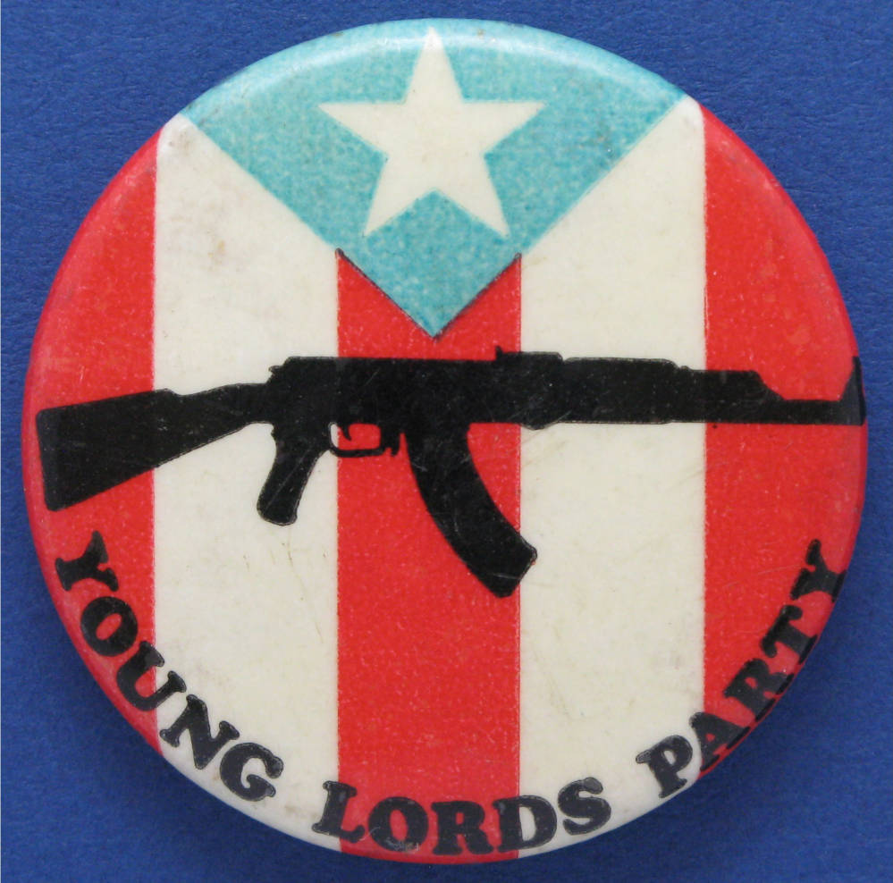 Young Lords Button