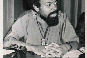 Amiri Baraka at Press Conference (1971)