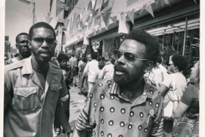 Amirir Baraka on Picket Line (1974)