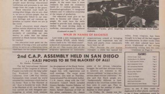 Black New Ark September 1972