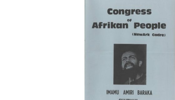 thumbnail of Booklet, Congress of African People-compressed