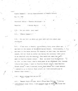 Eugene Campbell Oral History Transcript-min