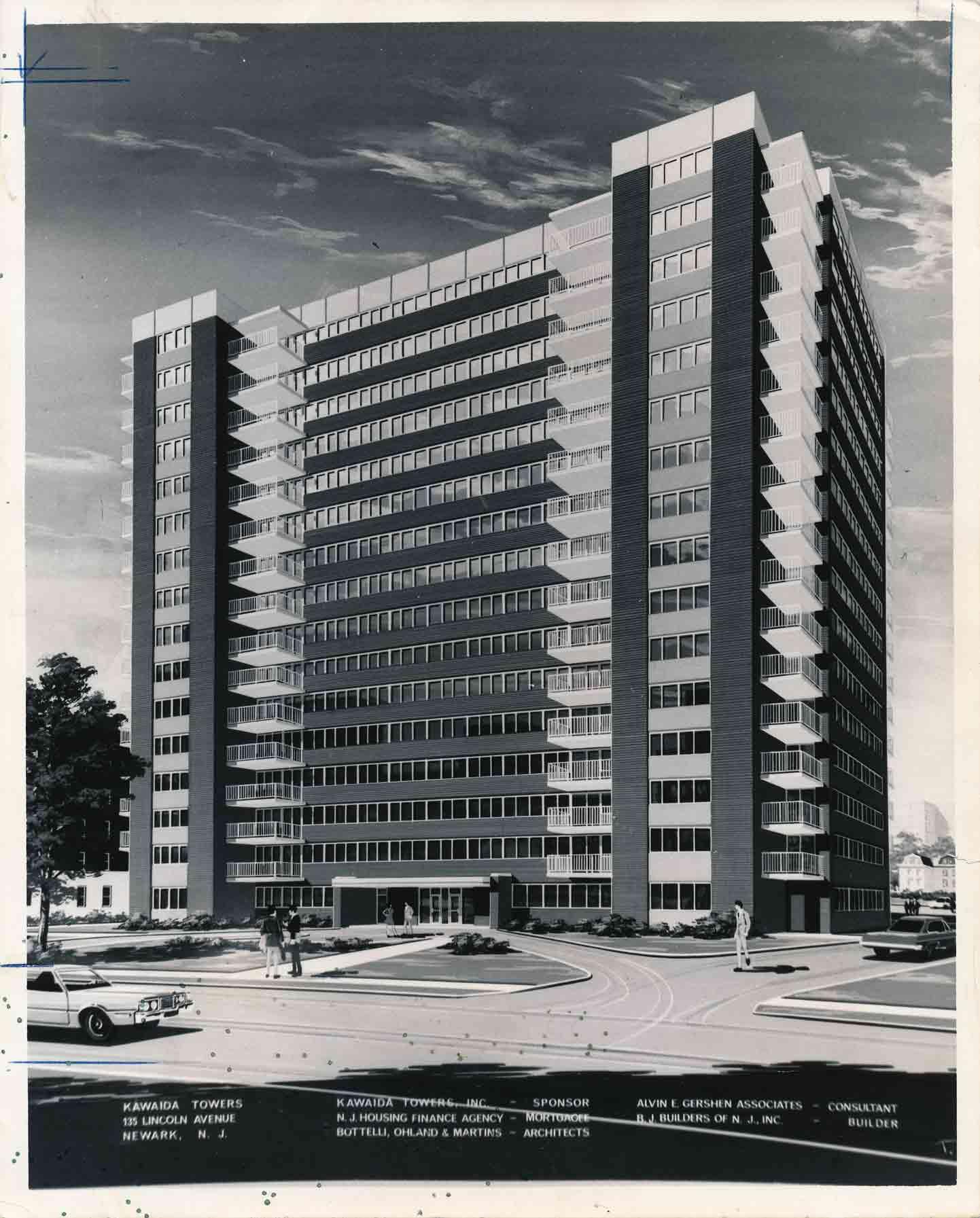 Kawaida Towers Rendering (1972)