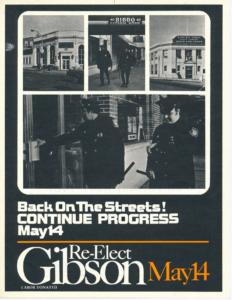 Ken Gibson Campaign Flyer (1974)-min