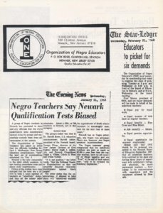 Organization of Negro Educators Leaflet (1968)-min