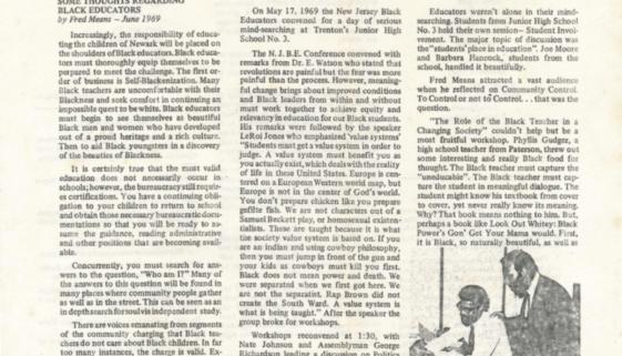 Organization of Negro Educators Newsletter (June 1969)-min