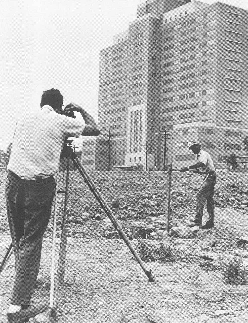 Construction Workers at NJCMD (1968)