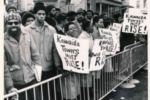 Rally at Kawaida Construction Site (1973)