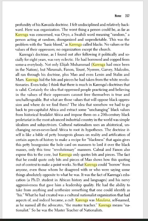 Excerpt of the The Autobiography of LeRoi Jones